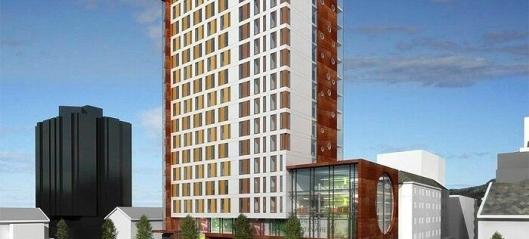 Vil bygge storhotell med leiligheter på toppen