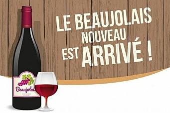 Årets første vin - nå er den kommet!