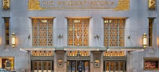 Waldorf Astoria solgt for rekordsum