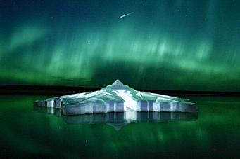 Planlegger flytende snøflakhotell i havet ved Tromsø