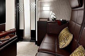 Din egen suite i 30.000 fots høyde