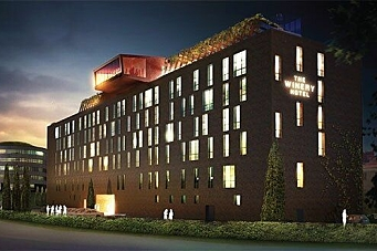 Bygger hotell med vin i fokus