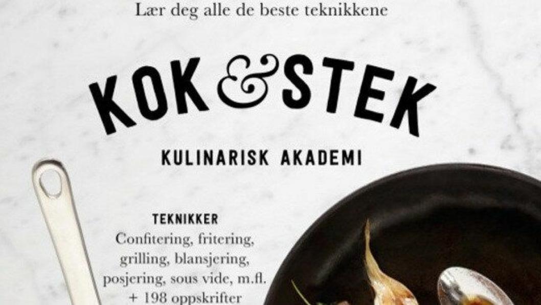 NY BOK: Kulinarisk Akademi har gitt ut ny bok.