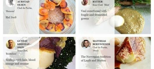Fem norske kan bli Young Chef 2016