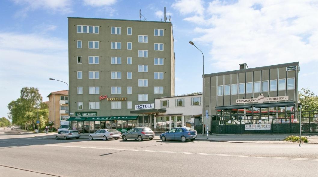 Det gamle Flyghotellet blir til Firts-hotell 1. januar.