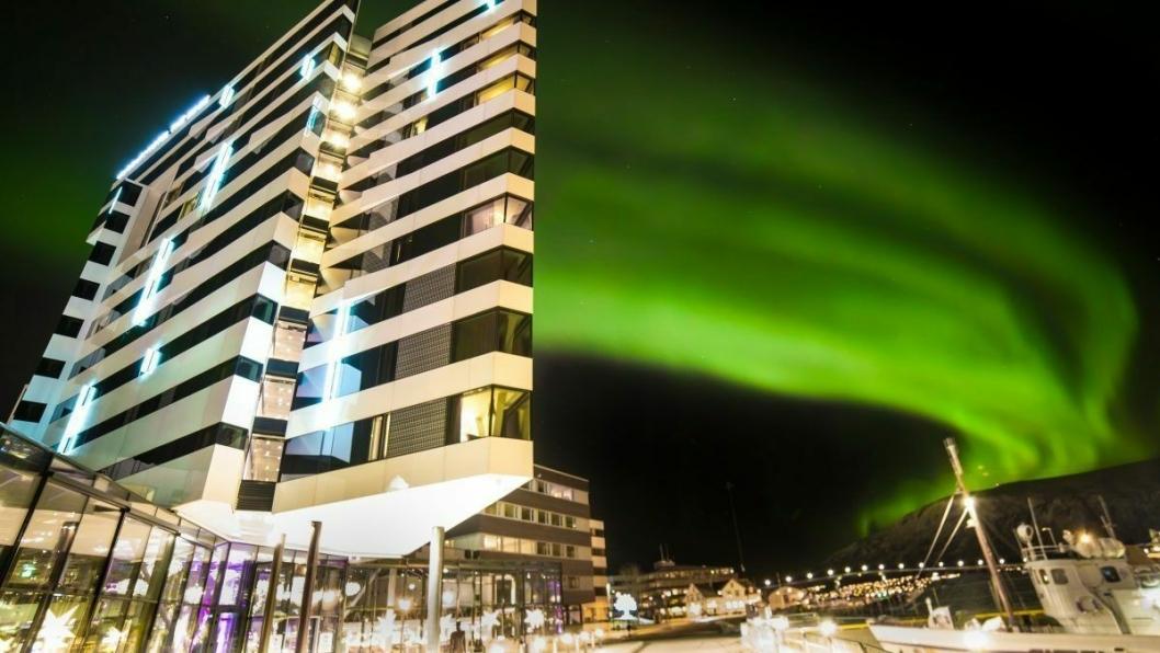 The Edge åpnet i mai 2014, og fra dag en ble hotellet et nytt samlingspunkt for innbyggerne i Tromsø. Foto: www.forkerfotos.com
