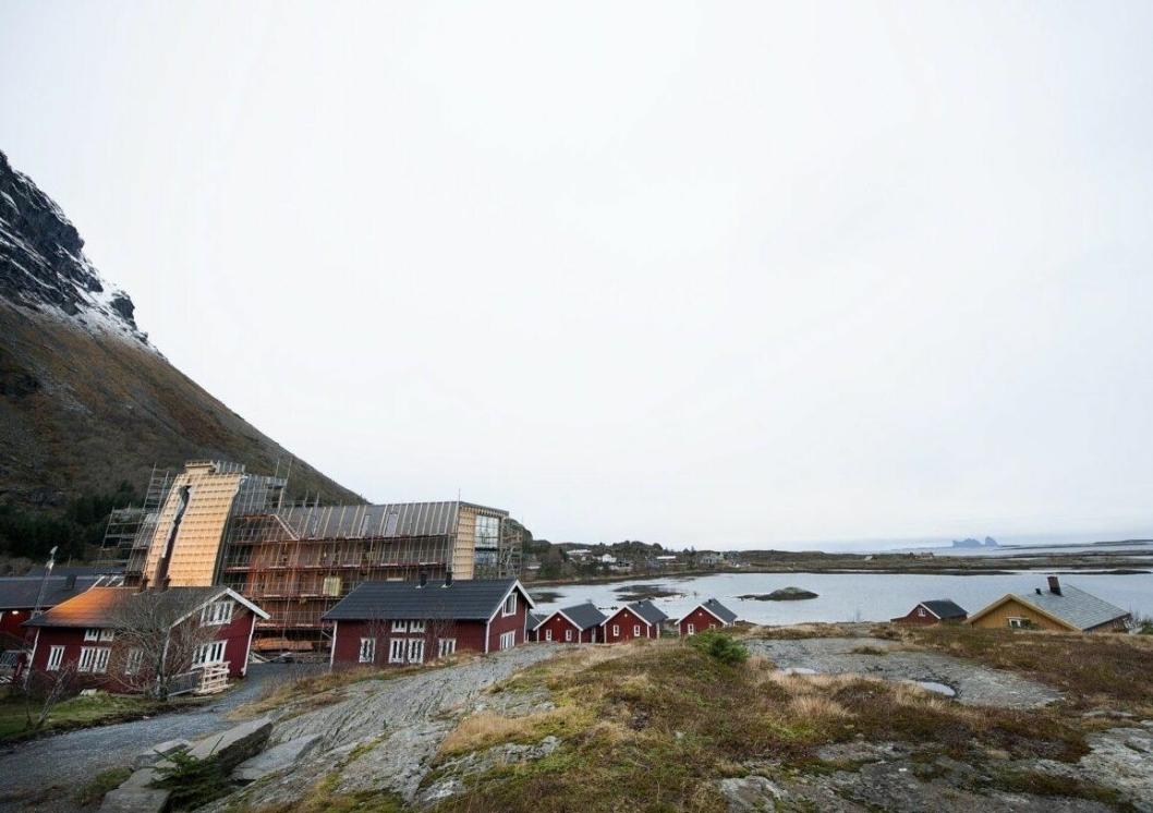 EN PERLE: Lovund på Helgelandskysten er norsk natur på sitt beste.