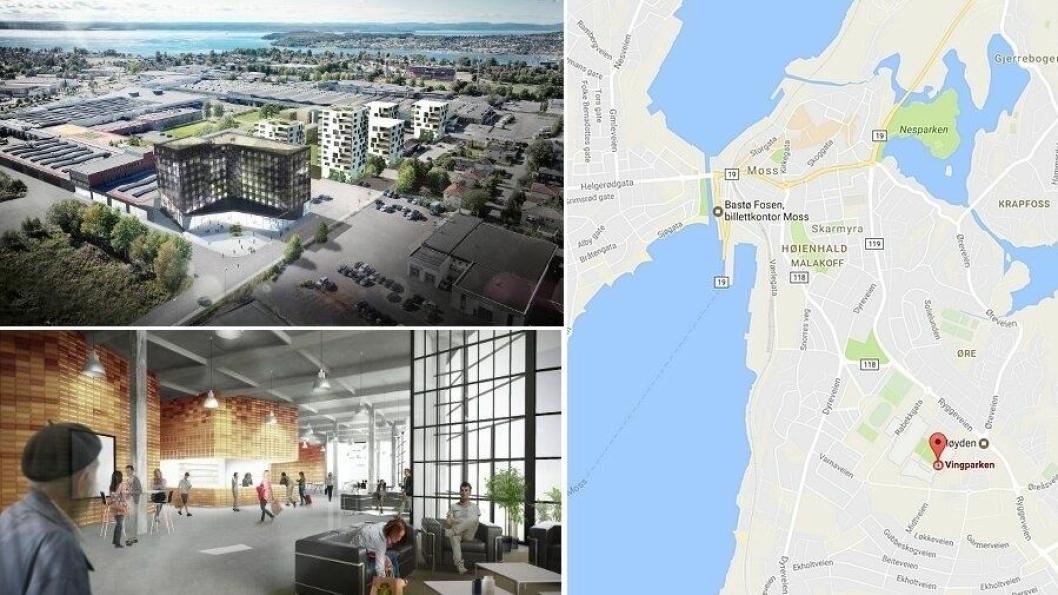 JUL I MOSS: – Går alt etter planen skal vi starte bygging av hotellet før sommeren 2018. Da vil hotellet stå klart til jul i 2019, sier adm.dir. Espen Klevmark i Enata Eiendom.