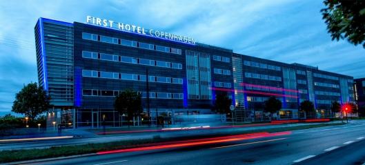 INNGÅR I AVTALEN: First Hotel Copenhagen.