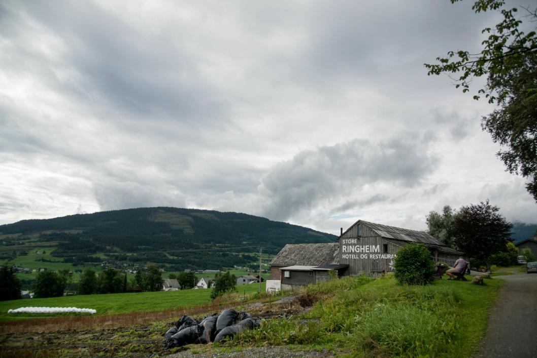 IDYLL: Store Ringheim på Voss er gårdsbruket som først ble restaurant og senere hotell. Nå skal de utvide fra seks til 15 rom.