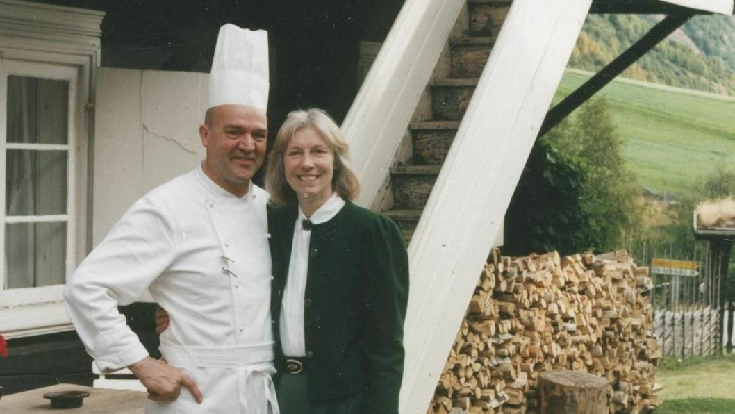 RØISHEIM: Unni og Wilfried dreiv Røisheim i 10 år, mellom 1985 og 1995. (Foto: Privat)
