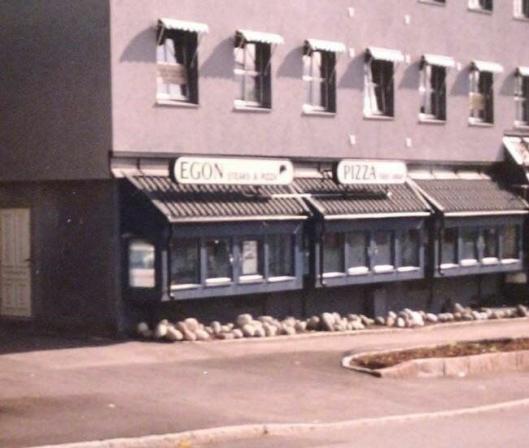 1984: På Nordstrand vart den fyrste Egon-restauranten opna i 1984. Sidan har kjeden vakse og har nå over 30 restaurantar over heile landet. (Foto: Norrein).