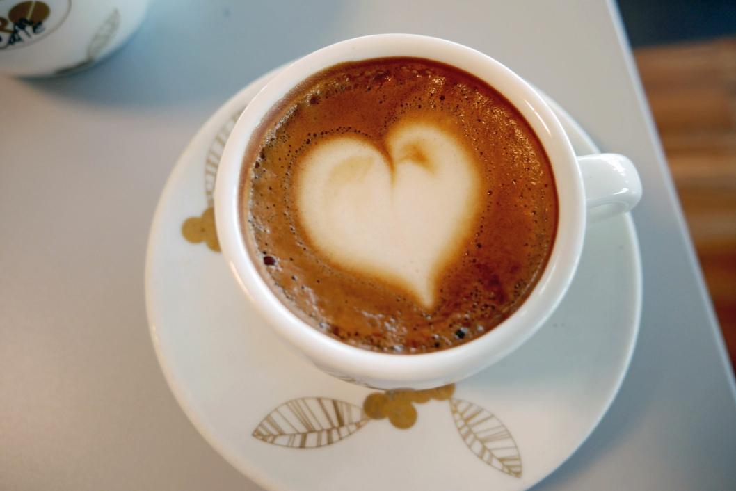 Kaffehjerte.