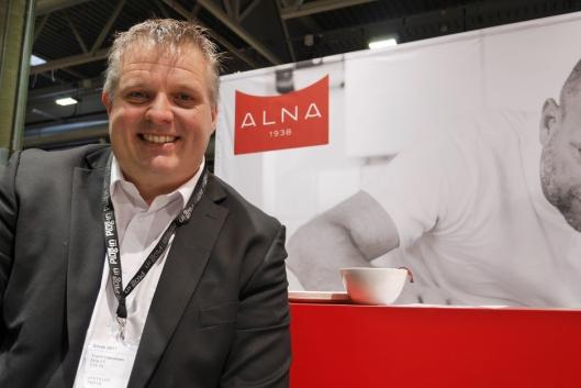 STORE PLANER: Salgs- og markedssjef Trond Halvorsen har store planer for Alna. Foreløpig er de litt hemmelige.
