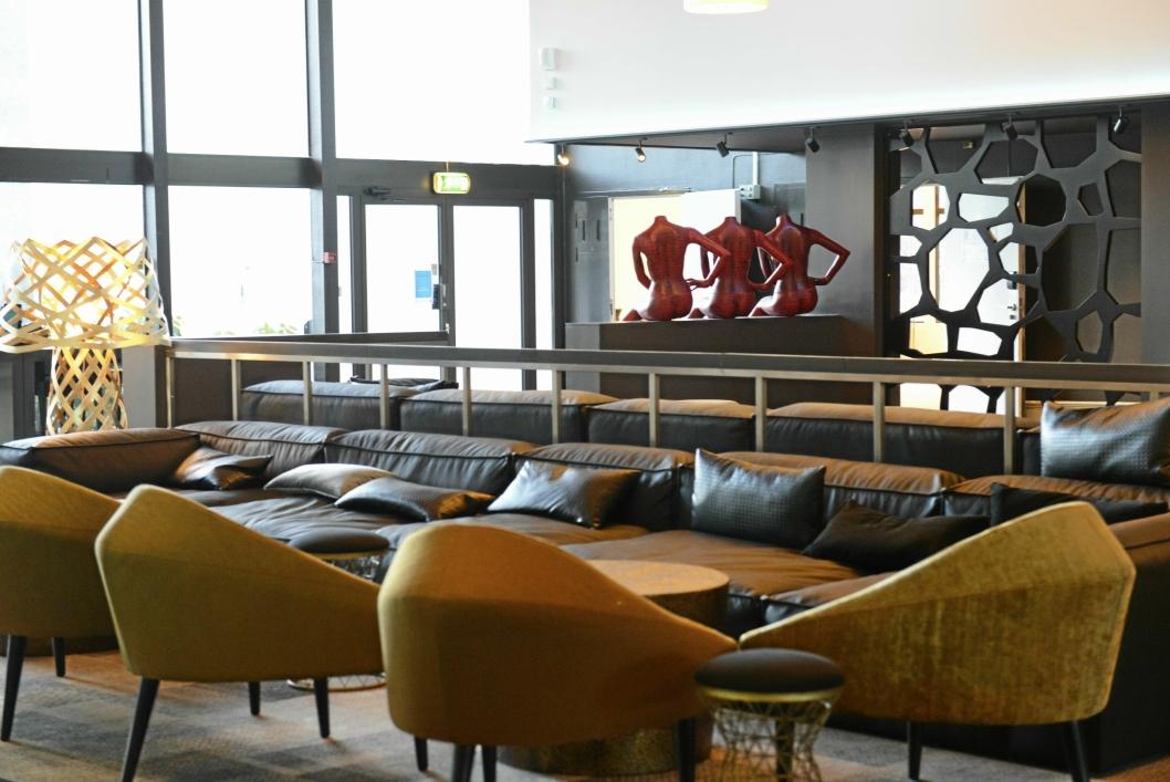 FORNØYD: Sjur Aalvik, direktør på Quality Hotel Mastemyr er fornøyd med oppussingen.