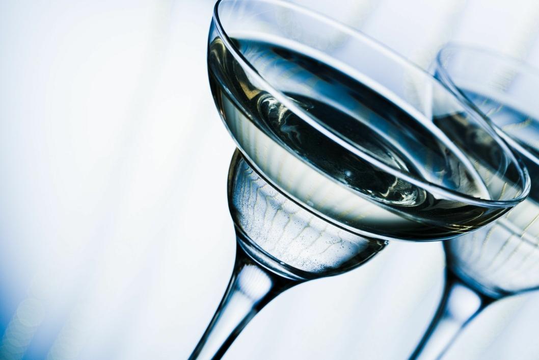 MYTE: Er coupe-glasset det best egnede? Foto: iStock Photo.