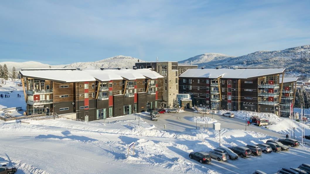 SUITE-NYHET: Radisson Blu Resort i Trysil har laget en ny fasjonabel suite. Foto: Ola Matsson.