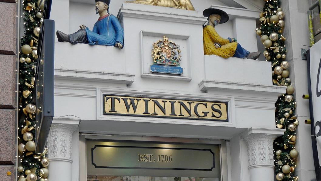 LANG HISTORIE: Twinings har drevet handel siden 1706. Alle foto: Eskil Bjørshol.