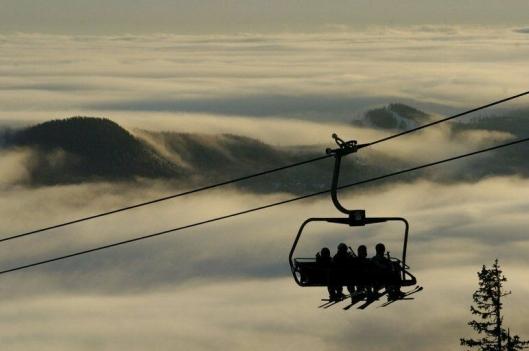TRYSIL: Kanskje får de reisende magiske opplevelser som dette i vinterferien.
