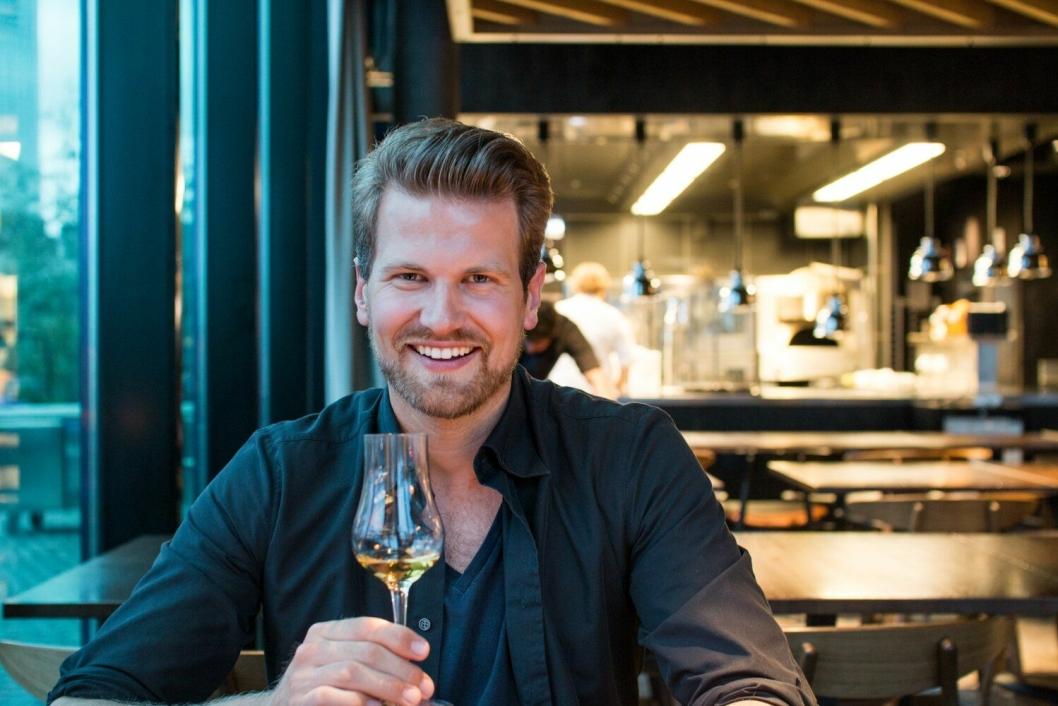 MAT-GURU: Anders Husa er en av Norges viktigste matskribenter. Foto: Arnold Lan.