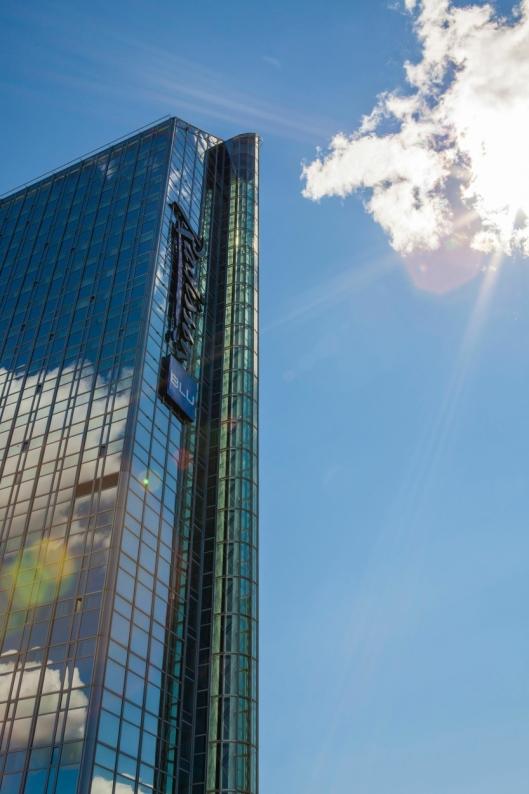 MAJESTET: Radisson Blu Plaza Hotel er hotellkongen i Norge. I alle fall når det kommer til størrelse og høyde.