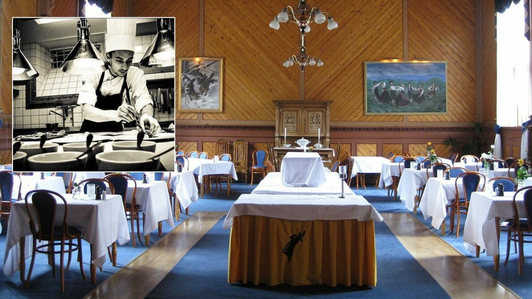 DUELL: Her i restauranten på Dalen Hotel skal den kulinariske dysten avgjøres. Foto: Vidar Iversen/Wikipedia Commons.