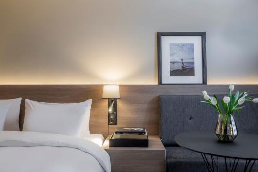 NYTT: Alle de 676 hotellrommene, i 37 etasjer, pusses opp av Link Arkitektur.