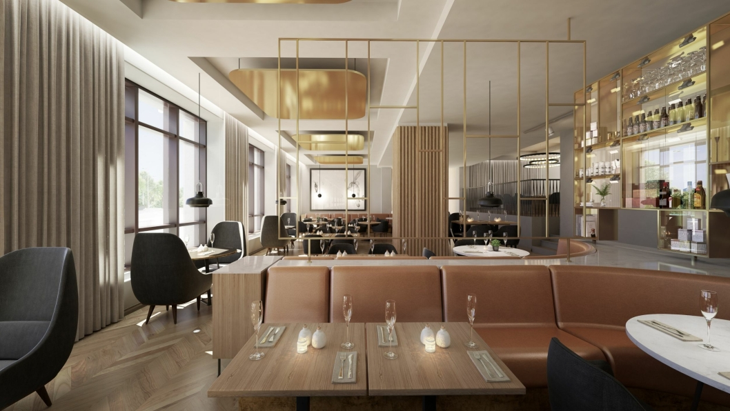 DELIKAT: Både lokaler og mat blir delikat i den nye restauranten.