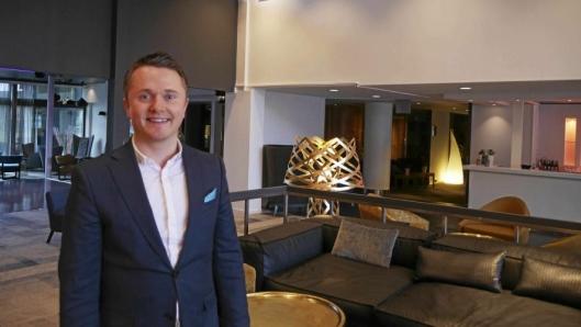 NY SJEF: Olav Kyrre Skoge er ny hotelldirektør på Qualkity Hotel Entry.