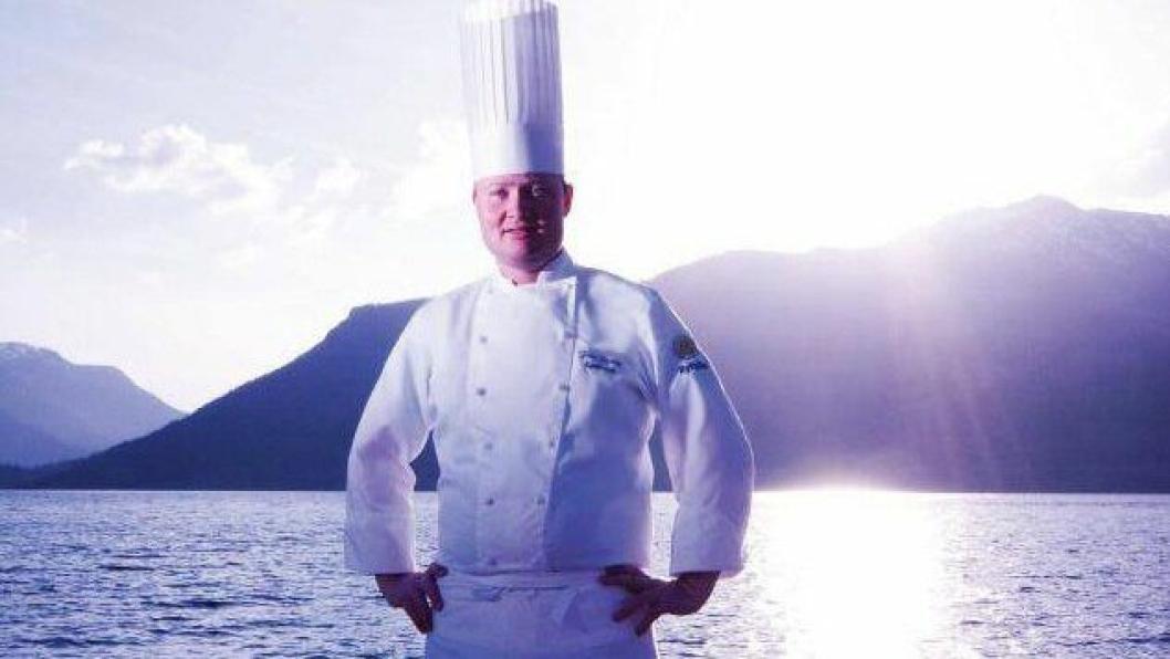 FIKK PRIS: Frode Selvaag er tildelt prisen Årets Kjøkkensjef 2016.