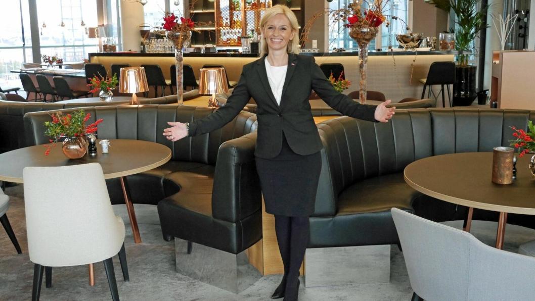 NY SJEF: Lise Solheim Haukedal er ansatt som hotelldirektør ved Hotel Norge i Bergen.