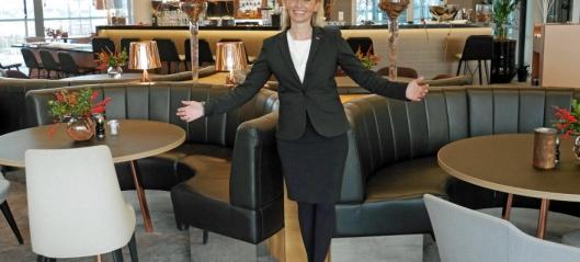 Hun blir sjef på Hotel Norge