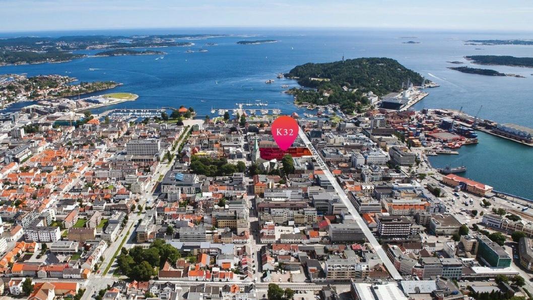 NYTT: I Kvartal 32 i Kristiansand skal Starbucks etablere seg.