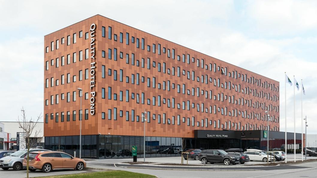 ENEEIER: Petter Stordalens Strawberry Properties blir eneeier av hotellbygget.