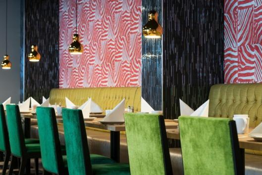 NY FROKOSTSAL: Bildet viser den nyoppussede frokostsalen på Thon Hotel Orion. Foto: Thon Hotel Orion.