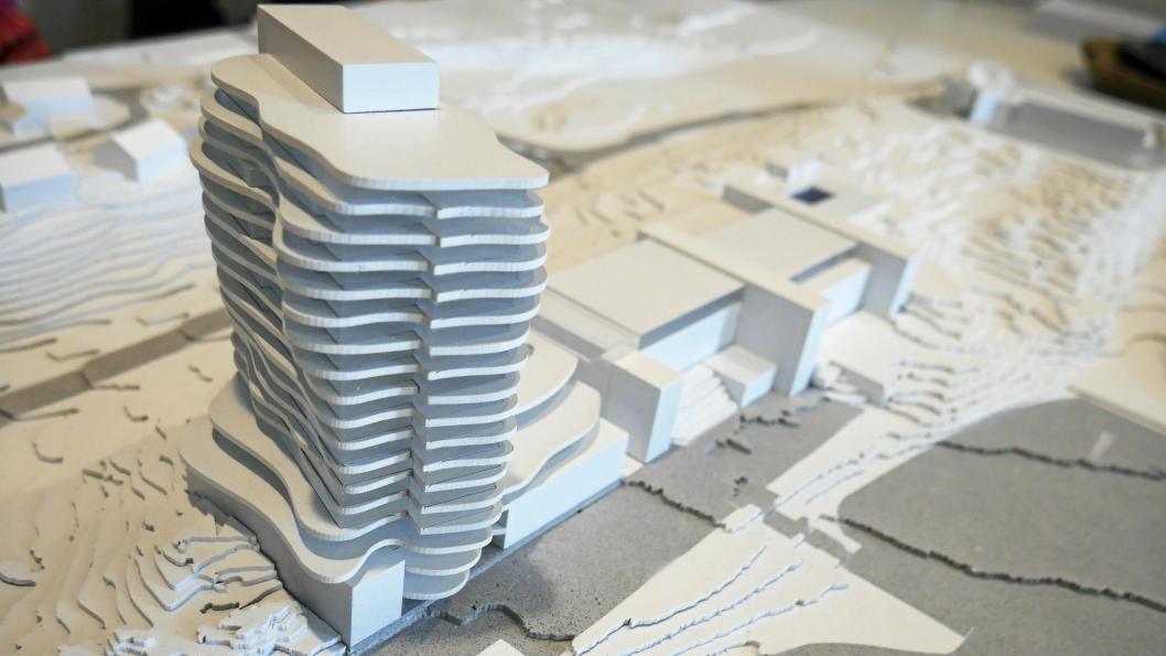 HØYT: Slik blir The Well Hotell hvis utbyggerne og arkitektene får de som de vil.