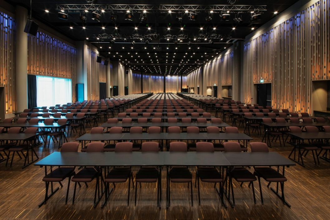 STORSAL: Den største salen har plass til 1100 personer.
