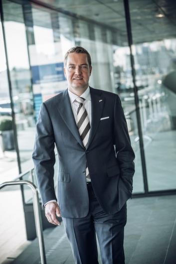 OPTIMIST: Regional Director for Rezidor Hotel Group i Norge, Ronald Smithjes, har stort tro på Stavanger-hotellene.