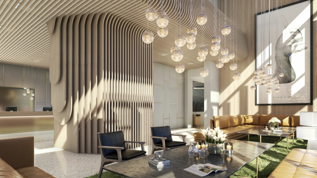NYTT: Lobbyen på Atlantic skal også få et skikkelig designløft.