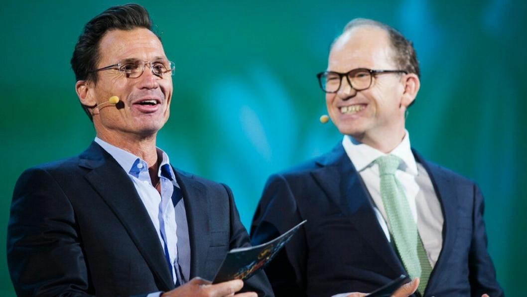FORNØYD DUO: Petter Stordalen og Torgeir Silseth har grunn til å være fornøyde med 2016.