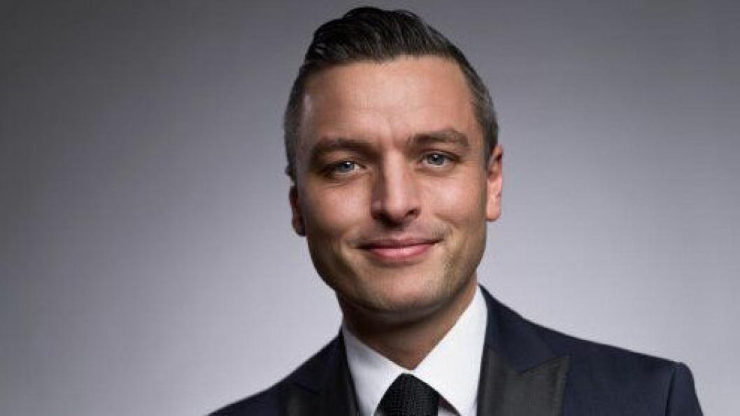 THE BOSS: Wilhelm Hartwig blir hotelldirektør på Amerikalinjen i Oslo.