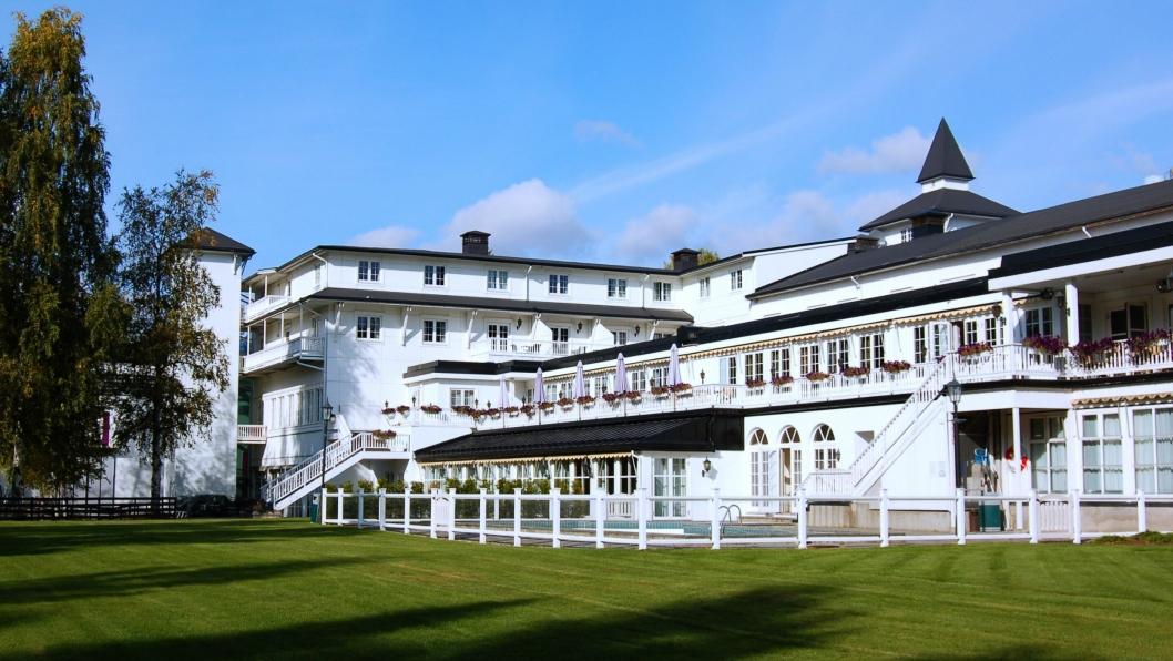 TIL SCANDIC: Fra og med i dag heter dette hotellet Scandic Lillehammer Hotel.
