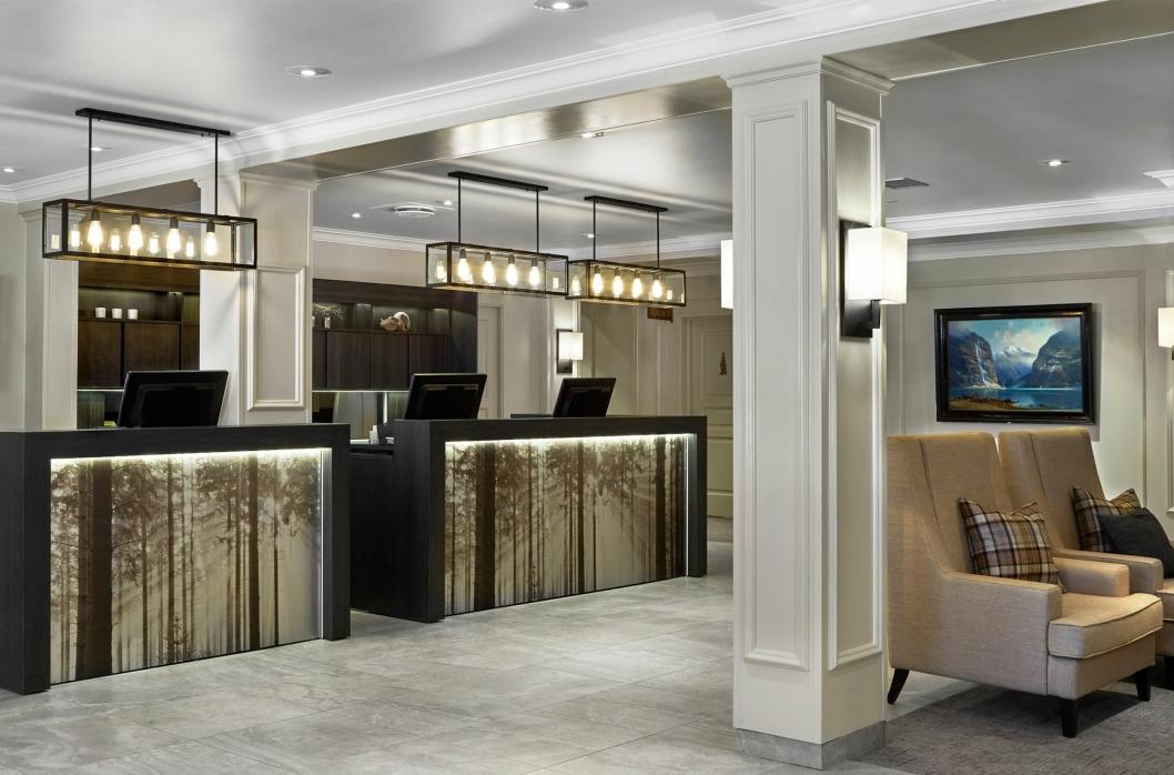 VELKOMMEN: Scandic Lillehammer Hotel ønsker velkommen i ny resepsjon.