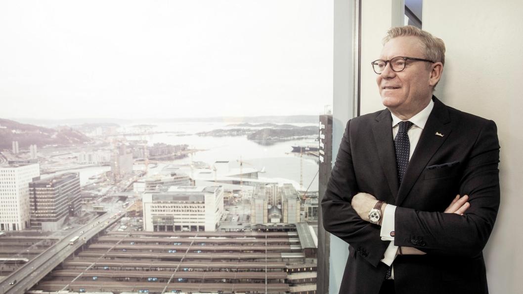 RUSTER OPP: Tarje Hellebust ser mot utlandet etter store konferanser og møter.