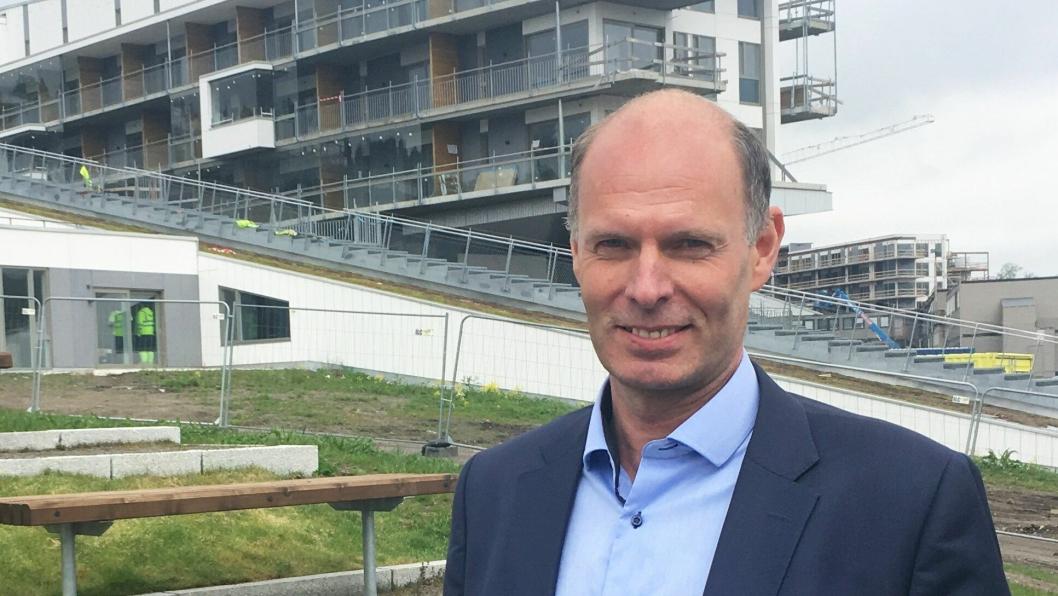 NY SJEF: Fredrik Skjøren er ny kommersiell direktør for Oslofjord Convention Center.