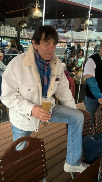 VIP: Helge Jordal mente det var et perfekt øl til sjømat.