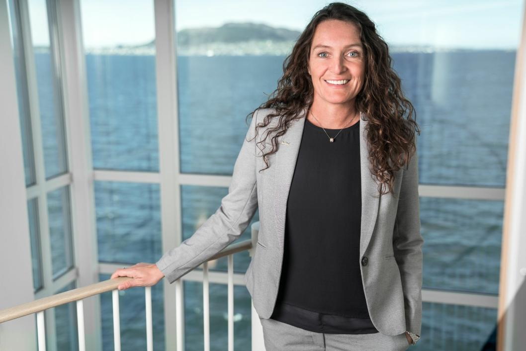 SKAL BLI BEST: Aina Aalen Bjerkvik sier hotellet skal bli best i byen.