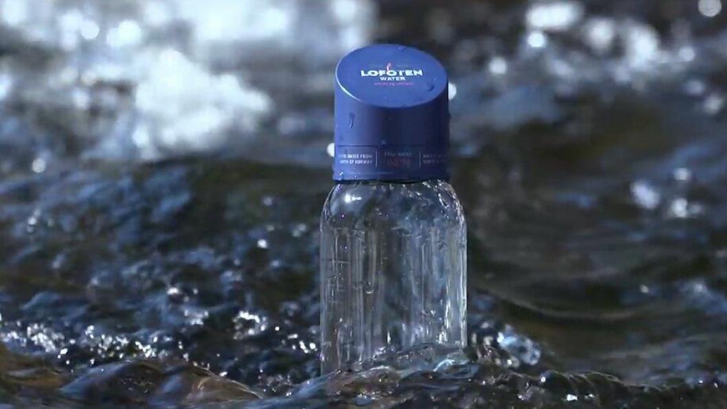 VINNER: Lofoten Arctic Water gikk til topps i prestisjetung vannkonkurranse. Foto: Skjermdump fra lofoten-water.com.