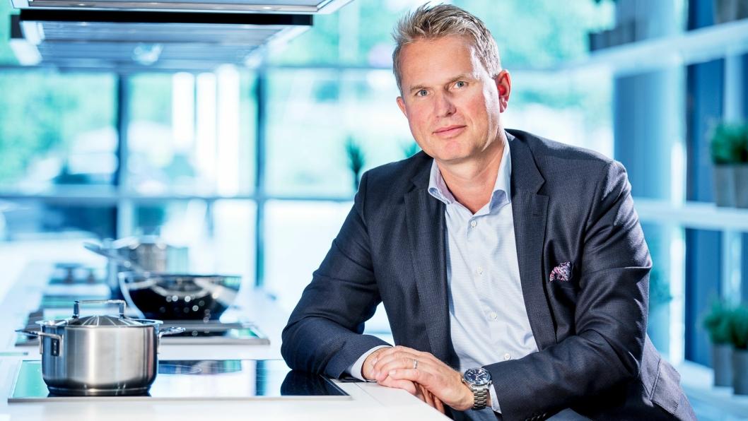 NY SJEF: Anders Kjekstad er nye sjef for Miele i Norge,