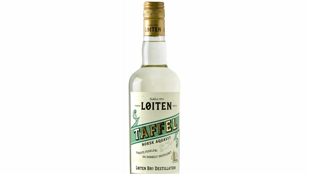 NYHET: Løiten Taffel Aquavit var en populær akevitt på begynnelsen av 1900-tallet. Produktet forsvant fra markedet under forbudstiden og resepten gikk tapt. Nå får den «nytt liv».